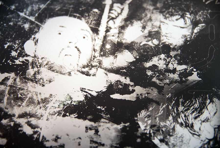 Krupskaya v Foible Instinct Split Record Artwork