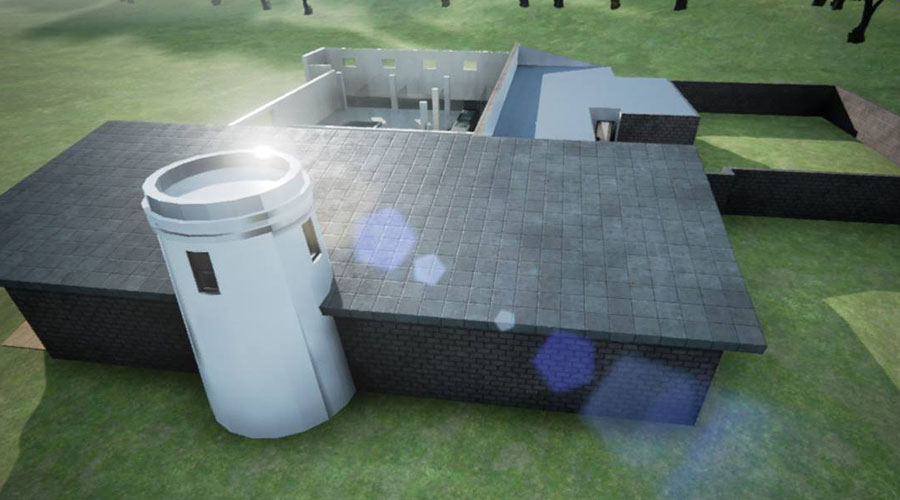 The African Penguin and Seabird Sanctuary facility rendering