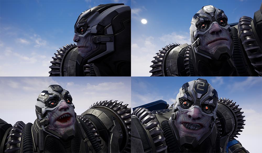 Paragon: Riktor face