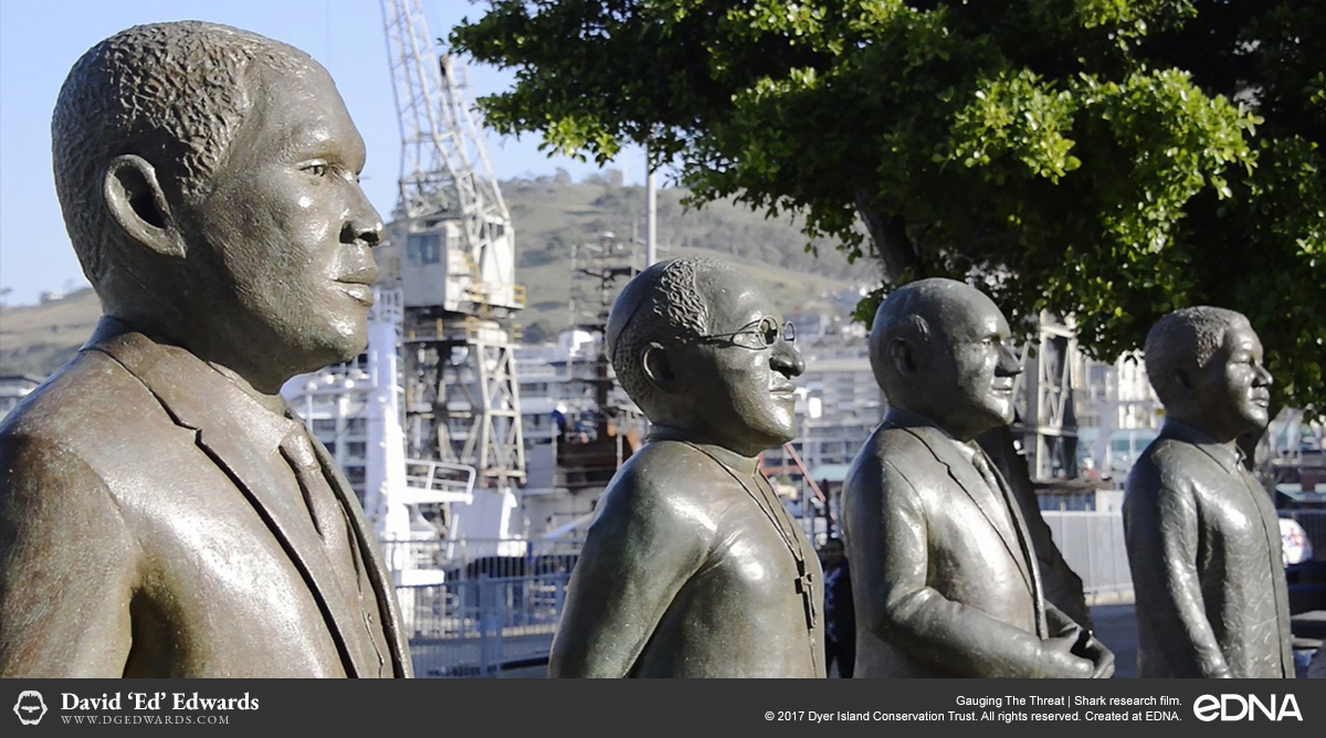 Political statues in Cape Town, South Africa