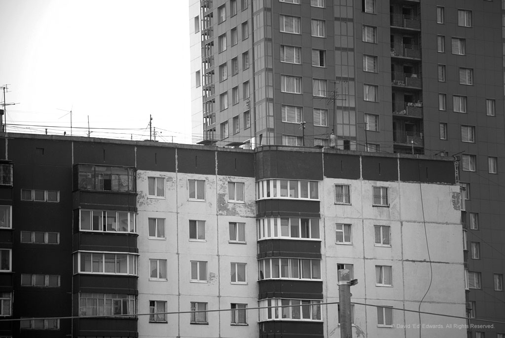 Architecture like this is frequently throughout cities like Perm and my nightmares.