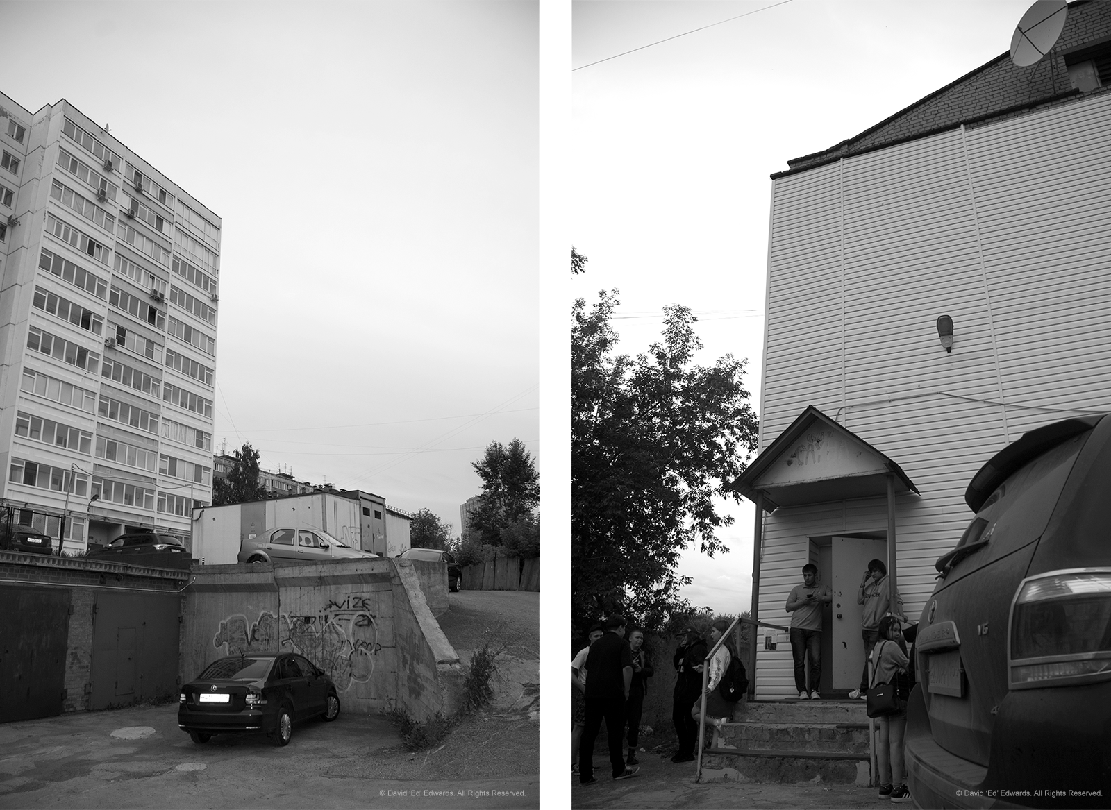 Krupskaya's venue in Perm. There's a reason why I'm not showing the bathroom.