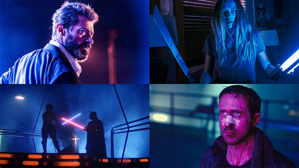 Logan, Lights Out, Star Wars: Return of the Jedi, Blade Runner 2049. © Their respective studios.