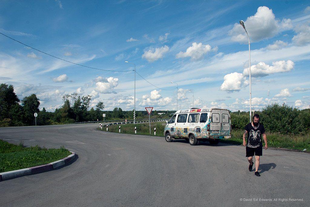 Krupskaya in Siberia